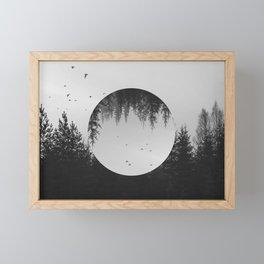 SOMEWHERE Framed Mini Art Print