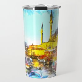Istanbul Art Travel Mug