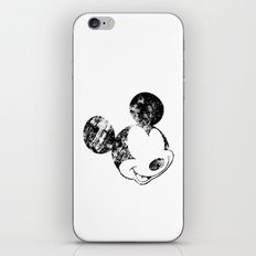 Mickey Grunge iPhone & iPod Skin
