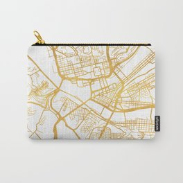 PITTSBURGH PENNSYLVANIA CITY STREET MAP ART Carry-All Pouch