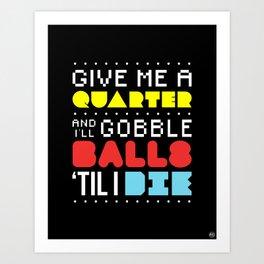 'Gobble Gobble' Art Print