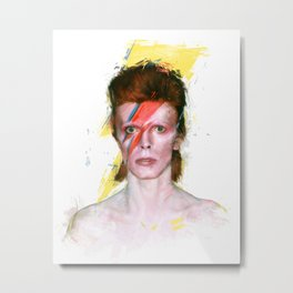 Bowie Metal Print