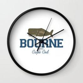 Bourne, Cape Cod Wall Clock