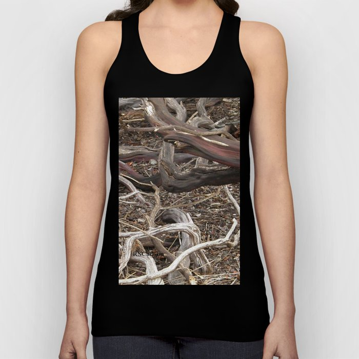 TEXTURES - Manzanita in Drought Conditions #3 Unisex Tank Top
