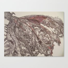 Birdopticape Canvas Print