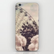 Cotton Candy Wheel iPhone & iPod Skin