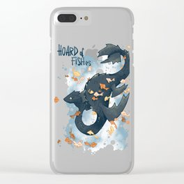 Hoard of fishes Clear iPhone Case