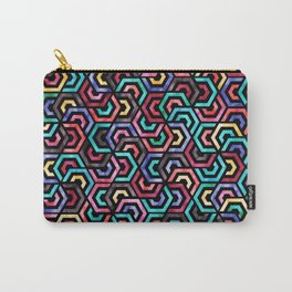 Seamless Colorful Geometric Pattern XXV Carry-All Pouch