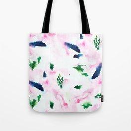 Abstract Watercolor Washout Tote Bag
