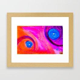 Space Case Framed Art Print