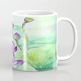 Peaceful Lily Pond Coffee Mug