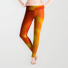 Light trails abstract Leggings