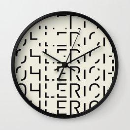 Ohlerich Speicher Transformation Wall Clock