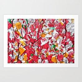 Tomates concentrées Art Print