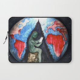 blood and suffer not me Laptop Sleeve