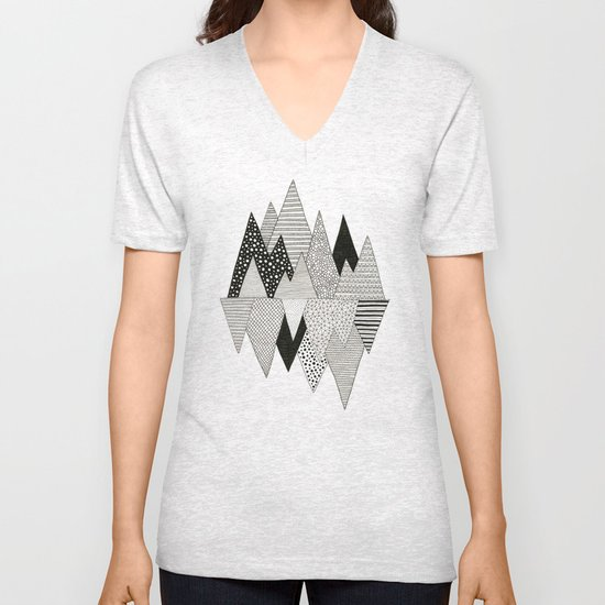 Lost in Mountains Unisex V-Neck