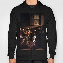 Caravaggio The Calling of Saint Matthew Hoody