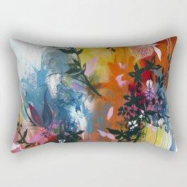 Calyces Fruits Abstract Rectangular Pillow