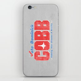 Vote Cobb iPhone Skin