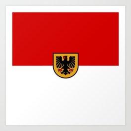 Flag of Dortmund Art Print