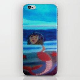Mermaid Swimming In The Sea iPhone Skin