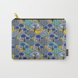 Trees in Gold Carry-All Pouch
