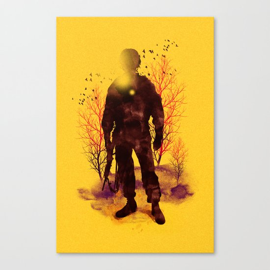 Back to My Homeland Canvas Print