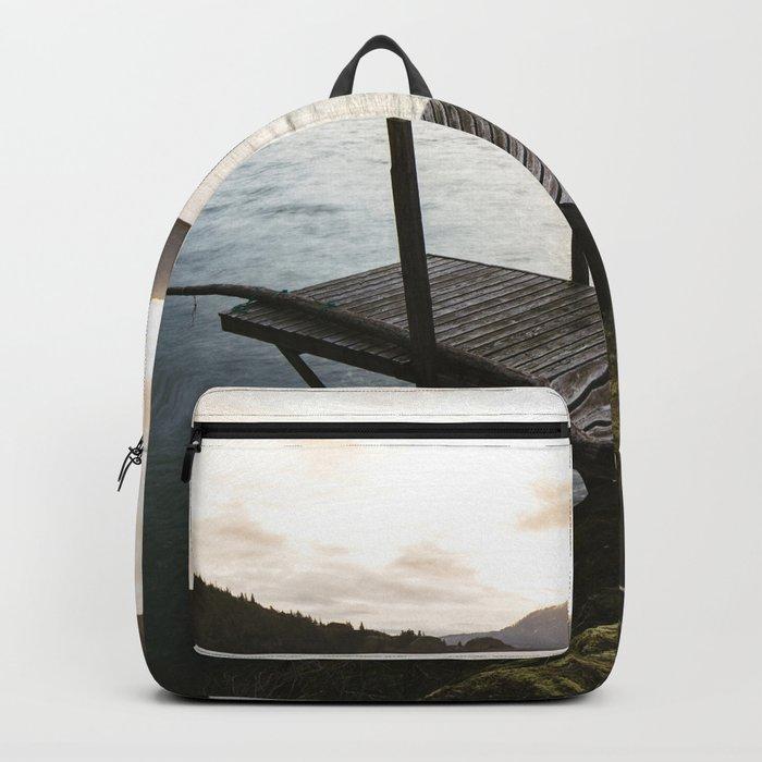 Salmon Sunrise Backpack