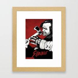 Shining - Here's johnny Framed Art Print