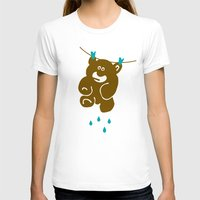 kindle T-shirts featuring Teddy's Wet by Efon Vee