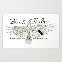Black Feather Studios Art Print