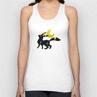 umbreon Tank Tops featuring Umbreon with moon by Criminal Crow