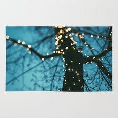 Bokeh tree. Rug