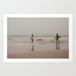 Come on in, the Water's Just Fine... Art Print