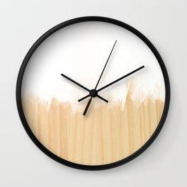 Scandinavian White Wall Clock
