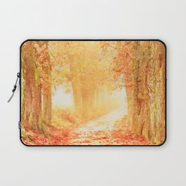 Autumnal forest watercolor painting #2 Laptop Sleeve