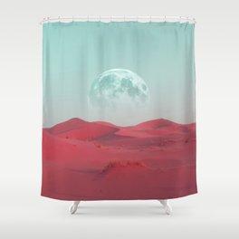 Pink Sahara Shower Curtain