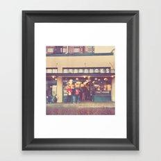 A Star is Born. Seattle Starbucks photograph Framed Art Print