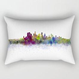 Los Angeles City Skyline HQ v3 Rectangular Pillow