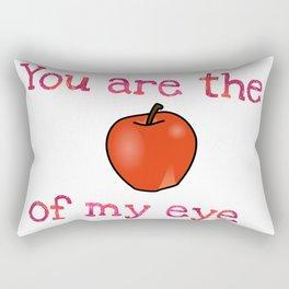 Apple of my Eye Rectangular Pillow