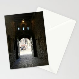 Open door Stationery Cards