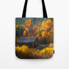 Hope Valley Fall Colors Festival, Sierra Nevada Tote Bag