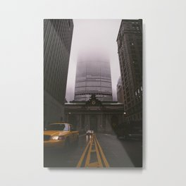 Dreary Central Metal Print