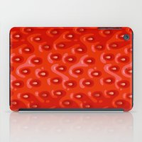 strawberry iPad Cases featuring Strawberry by Screen Candy