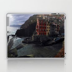 riomaggiore panorama, cinque terre. Laptop & iPad Skin