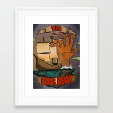 The Gnar Beast Framed Art Print
