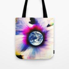 WORLD TURNS Tote Bag