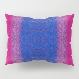 With Bi Pride Pillow Sham