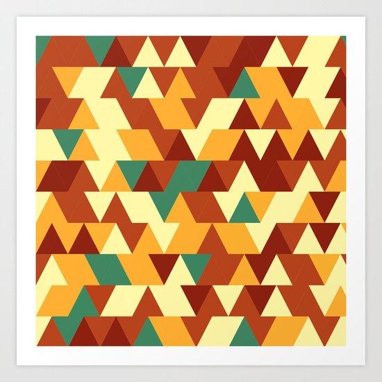 Hot tringles Art Print