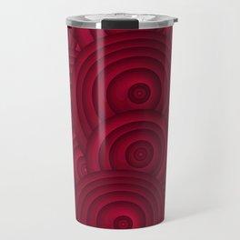 Dark Red Travel Mug